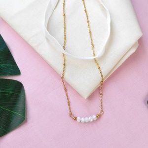 New Beaded Necklace & Choker Set